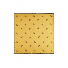 Joules Blomfield Silk Scarf Gold Partridge