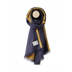 Joules Luxton Knitted Scarf French Navy