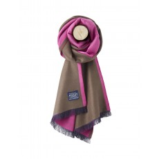 Joules Luxton Knitted Scarf Rose Pink