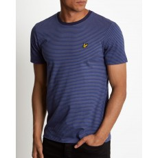 Lyle & Scott Feeder Stripe T-Shirt Blue