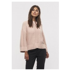 Part Two Moisy PU Pullover Sepia Rose