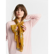 Joules Wensley Scarf Gold Chinoise