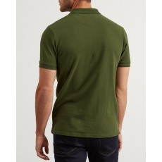 Lyle & Scott Plain Polo Shirt Green