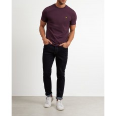 Lyle & Scott Plain T-Shirt Deep Plum
