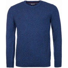 Barbour Tisbury Crew Knitwear Blue