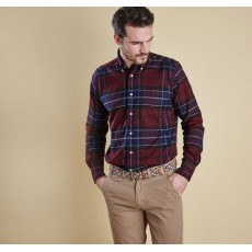 Barbour Lustleigh Shirt Merlot Port