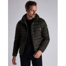 Barbour Ouston Hooded Quilt Jacket  Sage/Olive (SI)