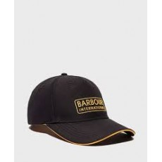 Barbour Hudson Sports Cap Black and Yellow