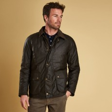 Barbour Strathyre Wax Jacket Olive