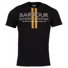 Barbour Locking Tee Stripe Black