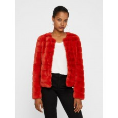 Vero Moda Avenue Faux Fur Short Jacket