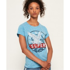 Superdry Gasoline Entry Tee Blue