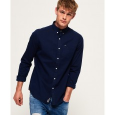 Superdry Ultimate Herringbone Shirt Indigo