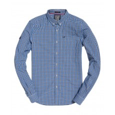 Superdry Ultimate Univeristy Oxford Shirt Blue Check