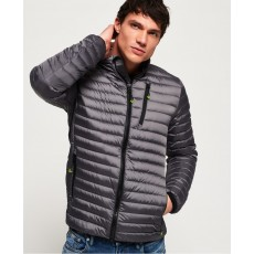 Superdry Core Down Jacket Grey