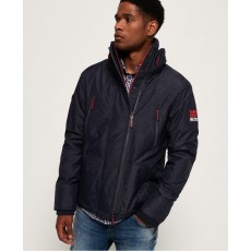 Superdry Polar Windattacker Deep Indigo Marl/Red