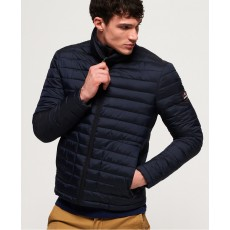 Superdry Double Zip Fuji Navy