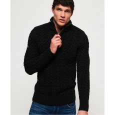 Superdry Jacob Henley Blackfair Twist