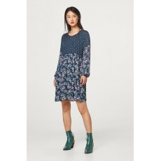 2a9e7f5a2993 Esprit fluent Dress Navy