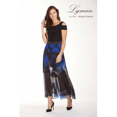 Frank Lyman Dress Black/Blue