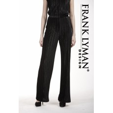 Frank Lyman Trousers Black/Gold