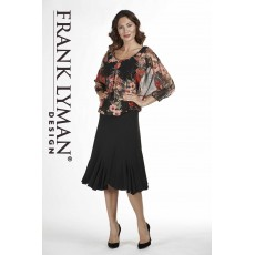 Frank Lyman Skirt Black