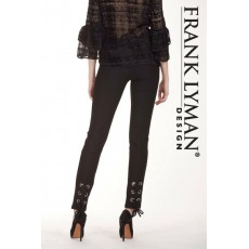 Frank Lyman Trousers Black
