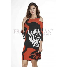Frank Lyman Dress Black/Red