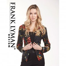 Frank Lyman Jacket Black/Orange