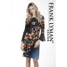 Frank Lyman Dress Blue Multi