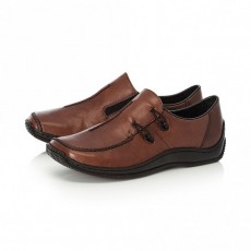 Rieker Shoes Mahogany