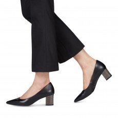 Tamaris Court Shoe Black