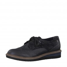 Tamaris Brogue Navy Comb