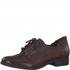 Tamaris Lace Shoe Merlot