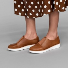 Fitflop Laceless Derby Tan