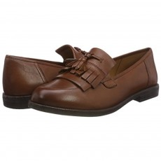Caprice  Cognac Nappa Loafer