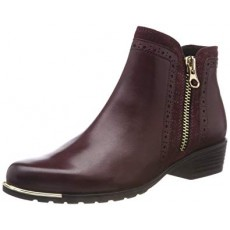 Caprice Bordeaux Comb Boot