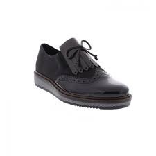 Rieker Brogue Black