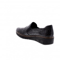 Rieker Slip on Shoe Granite