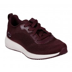 Sketchers Bobs Squad Total Glam Burgundy