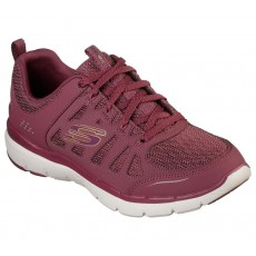 Sketchers Flex Appeal Billow Burgundy