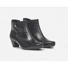 Gabor Sportylamm Black Bow Boot