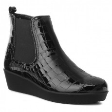 Gabor Alligator Boot Black