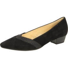 Gabor Court Shoe Black