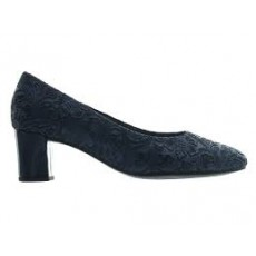 Gabor Heeled Court Blue/Marine