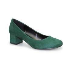 Lunar Cointreau Green Low Heel Court