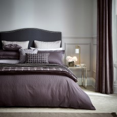 Peacock Blue Hotel Collection Rivage Bedding Damson