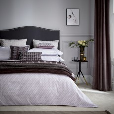 Peacock Blue Hotel Collection Zella Bedding Amethyst