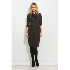Masai Nova dress long sleeve Black Org
