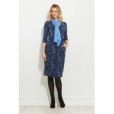 Masai Ninet dress 3/4 sleeve Sapphi Org
